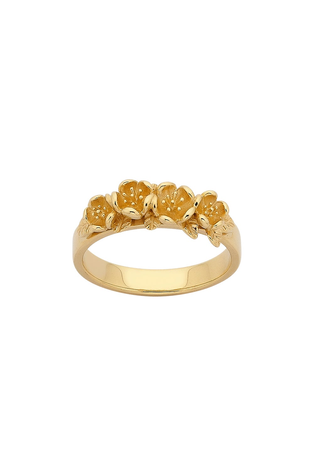 Wreath Ring Gold
