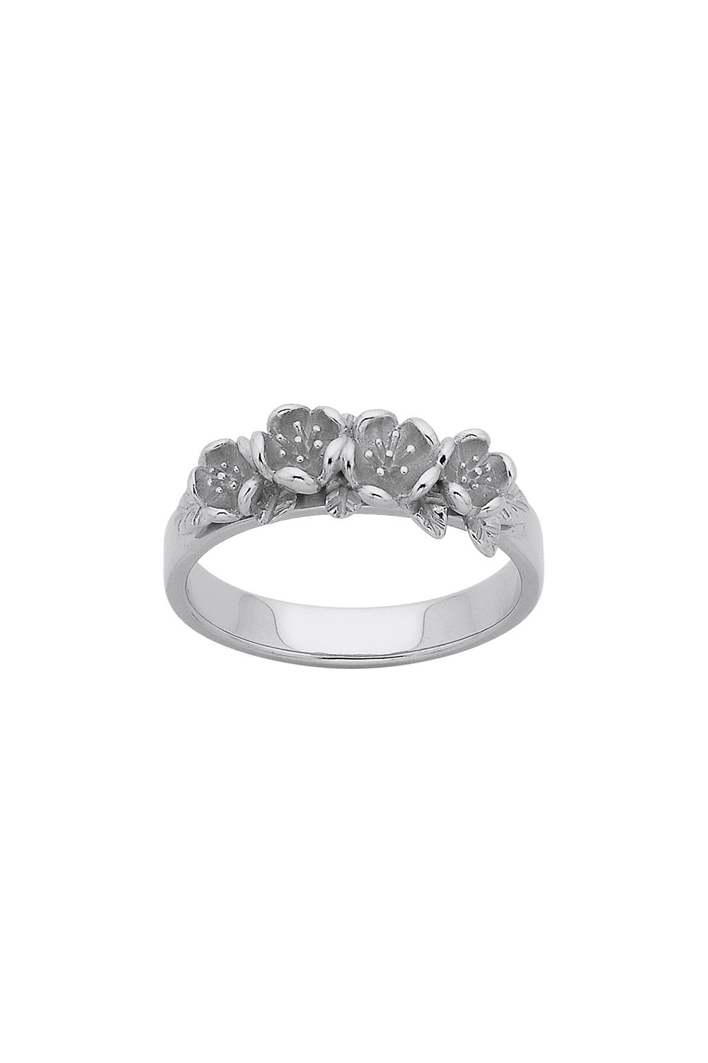 Wreath Ring Silver