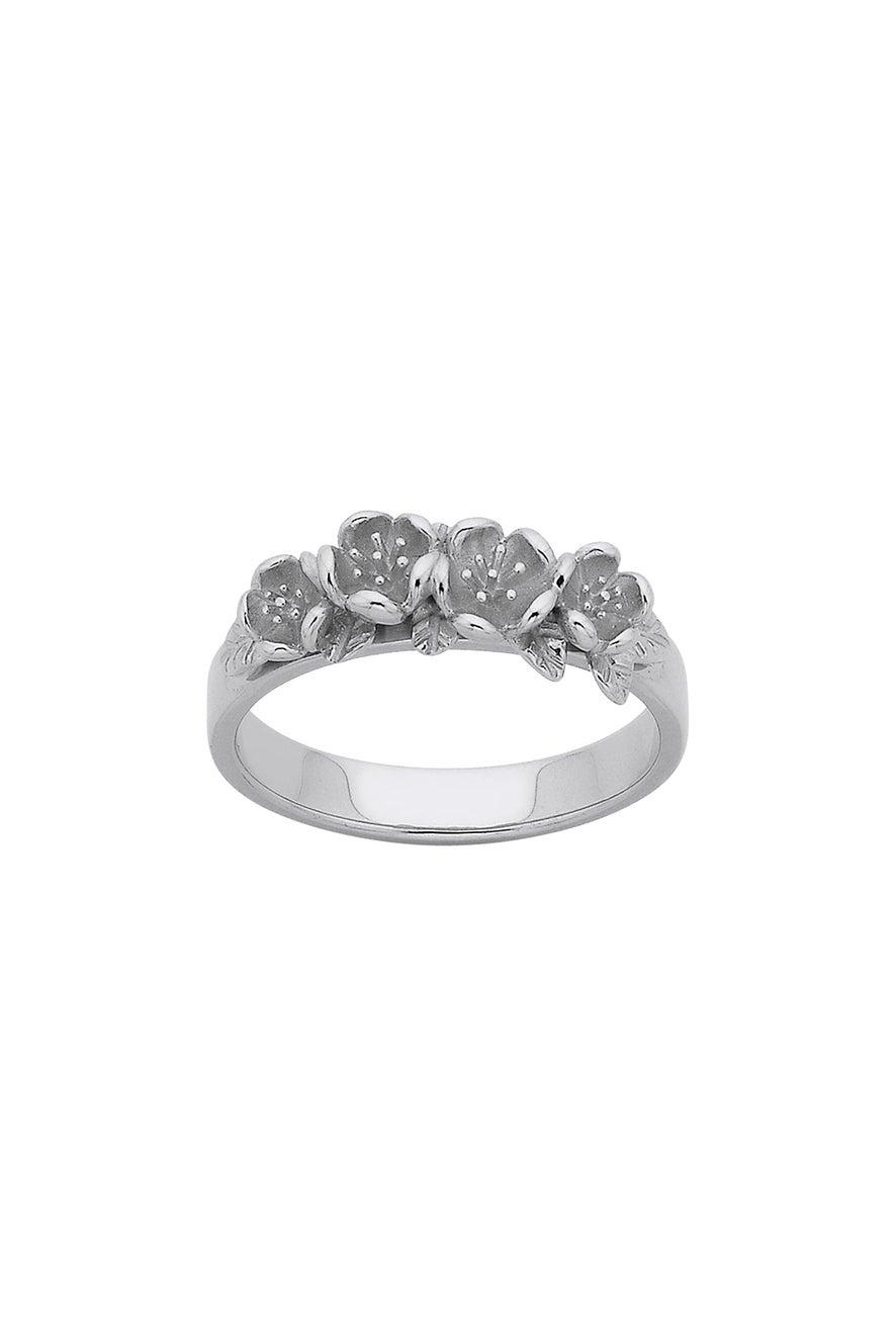 Wreath Ring Silver