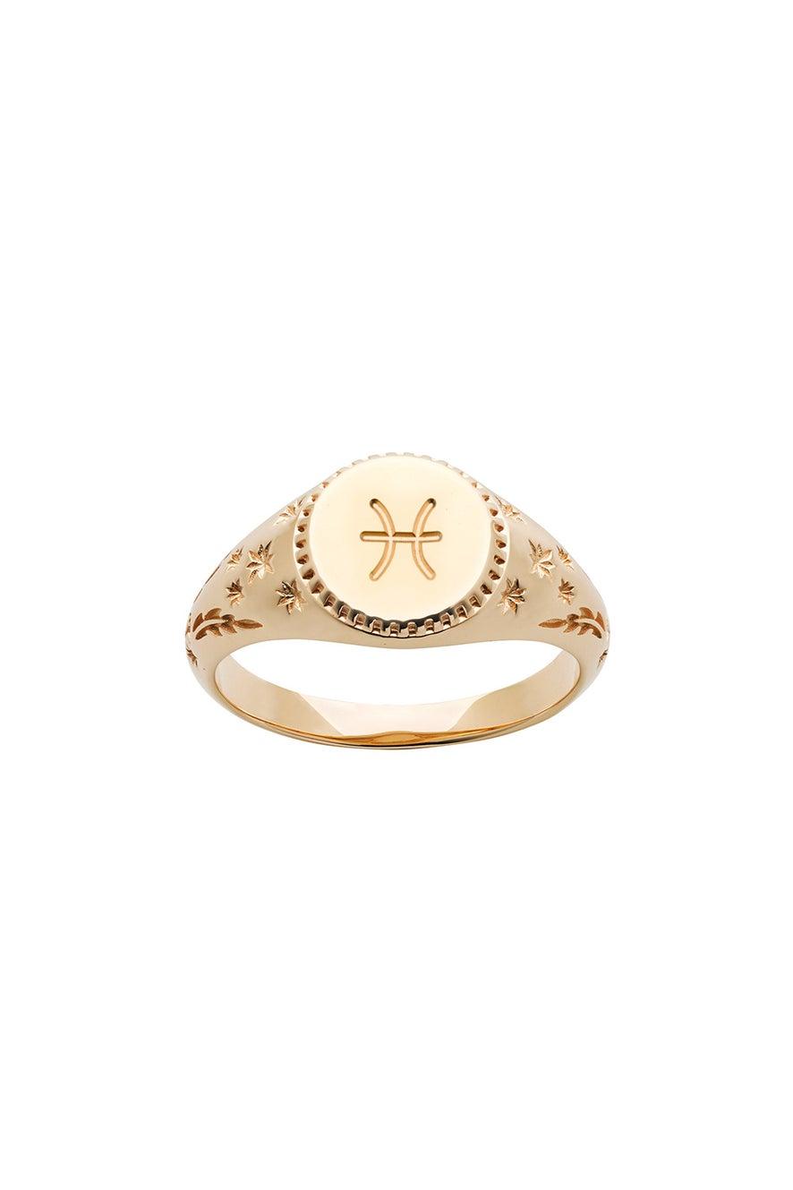 Zodiac Ring Gold