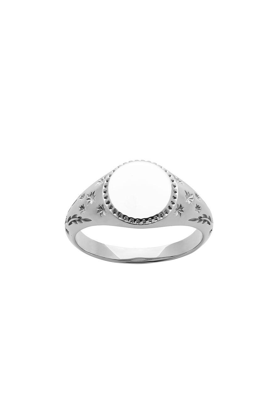 Zodiac Ring Silver